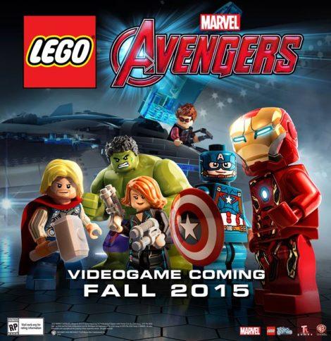 Os vingadores da Lego